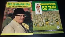 1968 1969 Green Bay Packers Lombardi Era + 50 Years of Professional Football Lot