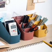 Cell Phone Holder Remote Control Desktop Organizer Storage Box Home / Office
