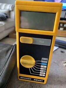 Megger BM401 Insulation Electric Continuity Current Tester multimeter meter.