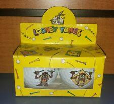 Looney Tunes Golf Balls Set of 2 Tazmanian Devil Taz 1994 NEW - STILL IN BOX WB