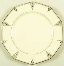 "1930s DEAUVILLE DINNER PLATE Community (Cream) China 10 Side 9.75"" Art Deco"