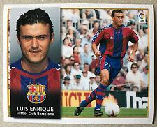 LUIS ENRIQUE - F.C. BARCELONA - Ediciones ESTE 98/99. (NUEVO)