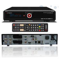 Octagon SF 2028 HD Optima 3D FullHD Twin Sat Receiver Schwarz HDTV Netzwerk NEU