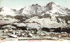 R214269 3079. Adelboden mit Lohner. 1907