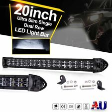 20inch 20000LM CREE LED Light Bar Spot Flood Dual Row Slim Work Driving 12V 24V