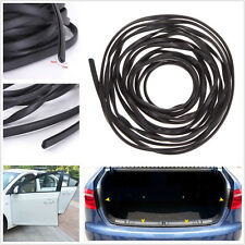 6Meter Black Car Door Moulding Rubber Strip Trim Guard Edge Protector Kit U-Type