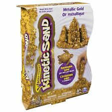 Kinetic Sand - Metals 'n Minerals Sand (Gold) - Spin Master 6026411