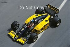 Alessandro Nannini Minardi M185B Monaco Grand Prix 1986 Photograph 2