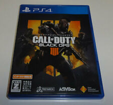 Call of Duty Black Ops 4 PlayStation4 PS4 Sony Used Japan Action Game 2018 Boxed