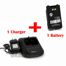 2000 mAh  LI-ion BP272 271 BATTERY + Charger FOR IC-31A   ID-31E  IC-51A  51E