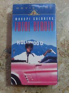 Fatal Beauty VHS Whoopi Goldberg Sam Elliott 1987 NEW SEALED