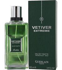 VETIVER EXTREME * Guerlain 3.4 oz / 100 ml Eau de Toilette Men Cologne Spray