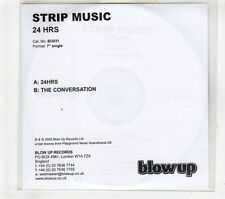 (GT439) Strip Music, 24 Hrs  - 2005 DJ CD