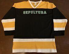 Rare Vintage Sepultura Hockey Jersey