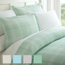 The Home Collection Premium 3 Piece Thatch Patterned Duvet Cover Set