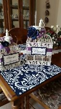 Wedding Table Squares and Table Runners used once
