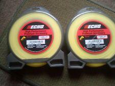 ECHO PRO NYLON 3 MM X 112 METRE * TWINPACK *BRUSHCUTTER SUIT STIHL *WHIPPER SNIP