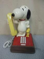 "SNOOPY & WOODSTOCK Phone13 1/2"" Tall"