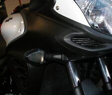Schwarze Blinker Gläser Suzuki DL VStrom V Strom 650 1000 ab 2012 smoked signals