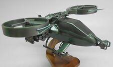 AT-99 Scorpion Avatar RDA VTOL Gunship Mahogany Kiln Wood Model Small New