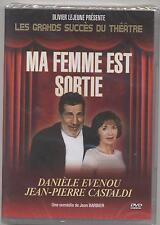 NEUF DVD PIECE DE THEATRE MA FEMME EST SORTIE SOUS BLISTER EVENOU CASTALDI