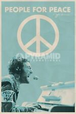 Poster Import John Lennon People for Peace  Pace