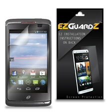 4X EZguardz LCD Screen Protector Skin HD 4X For Unimax Tracfone MaxPatriot U671C