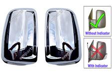 VW Crafter Porte Aile Miroir Chrome Cadre Boîtier Paire àpd 2006