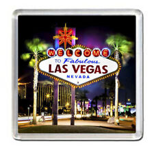 "Las Vegas USA Fridge Magnet Travel Souvenir 2,5""x2,5"" Nevada"