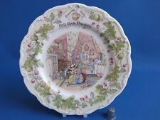 """Royal Doulton Brambly Hedge """"VECCHIO ROVERE Palace"""" 8 in (ca. 20.32 cm) Plate-eccellente-Regalo Inscatolato"""