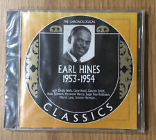 Sealed CD The Chronological Classics Earl Hines 1953-1954 Jazz.