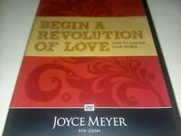 JOYCE MEYER DVD Begin A Revolution Of Love How To Change Your World NEW SEALED