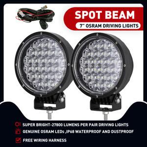 New Design OSRAM 7inch LED Driving Lights Spot Round Work Spotlights Vehicle 4x4