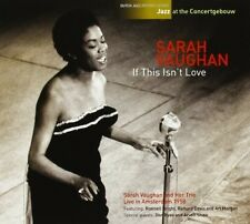 Sarah Vaughan - If This Isn't Love-Jazz at the Concertgebouw [New CD] Spain - Im