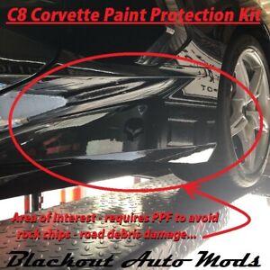 2020 2021 C8 Corvette Rear Quarter Lower Rocker Panel Protector Paint Protection