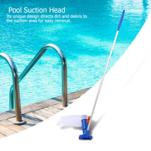 Professional Pool Cleaning Kit Pool Suction Head Pond Cleaning Tool 135cm Rod UK