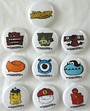 Bumbershoot 2005 Button Pin TEN Set MINT RARE Promo Only Seattle Music Festival