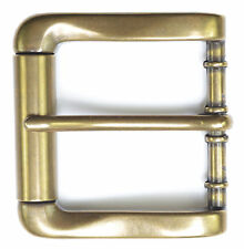 "Brass Roller Belt Buckle for 1 1/2"" Belts - High Quality - New"