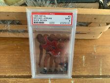 1995 Metal Slick Silver Michael Jordan #3 PSA 9 MINT no yellowing, clear