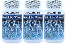 3x Water Away Retention Pills Herbal Diuretic Tablets Weight Loss Bloating Diet