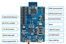 H2 CC2541 Bluetooth Evaluation Board with Micro-USB Power Supply and CP2102