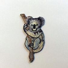 10 x EMBROIDERY IRON ON KOALA PATCH EXQUISITE QUALITY DETAIL AUSTRALIA ANIMAL