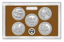 2017-S America The Beautiful Quarter 5 COIN PROOF SET NO Box orCOA
