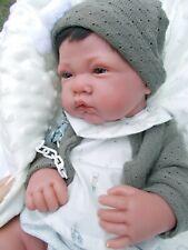 antoine bébé sexué garçon a complet avec tétine poupée jouet -reborn neuf