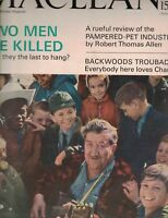 Maclean's Magazine September 18 1965 Charlie Chamberlain Turpin-Lucas Execution