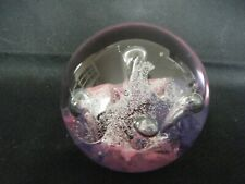Caithness Moonflower Series Crystal Paperweight Numbered U9320