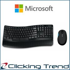 Wireless Keyboard and Mouse Microsoft Sculpt Comfort Desktop Combo USB PC MAC