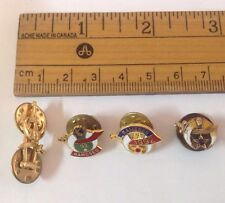 Lots Of Masonic Hat Pins Lapel Pins