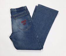 Rifle 821 jeans vintage zampa bootcut W28 tg 42 43 blu denim retro usato T2571