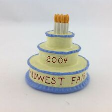 Sebastian Miniature Sml-769 Midwest Fair Medallion - Cake